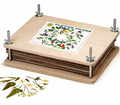 The Nether Wallop large flower press enables you to preserve your flowers and leaves for a range of craft uses.