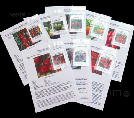 If you're a big fan of tomatoes then the Tomato Collection that will keep you supplied all summer long is just for you.