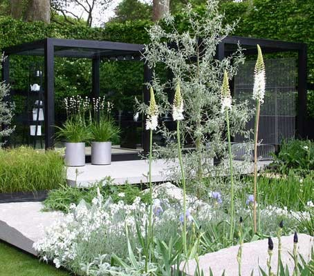As they say, white goes with everything and among theme gardens, the white garden may be the most popular.