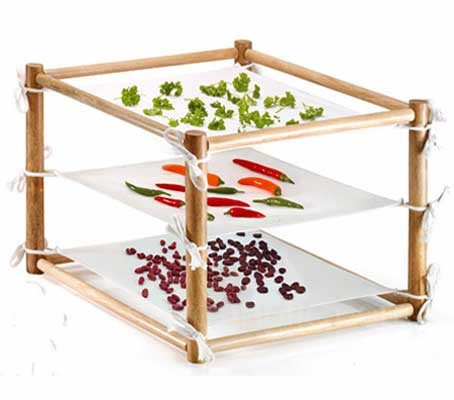 Air drying has been used for millennia as a way of preserving produce for the winter months and for enhancing flavours.